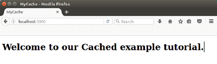 Ruby on rails Caching 1