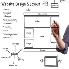 SEO Design and layout of a website 1