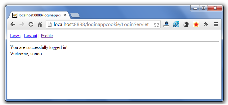 servlet cookie login example 4