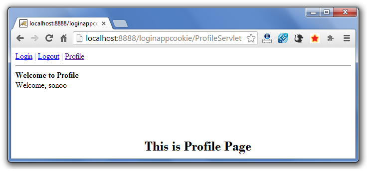 servlet cookie login example 5