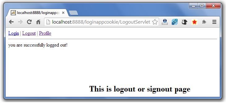 servlet cookie login example 6