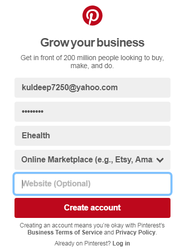SMO How To Create A Business Account On Pinterest 2