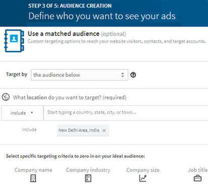 SMO How To Create An Ad Campaign On LinkedIn 8