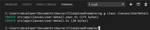 Spring Angular File Upload Application