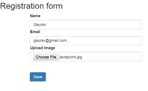 Angular + Spring File Upload Example - javatpoint