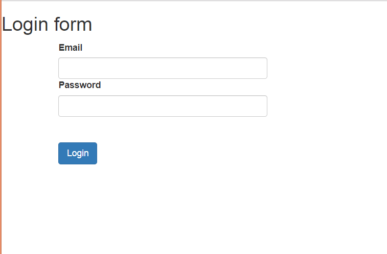 Spring Angular Login and Logout Application