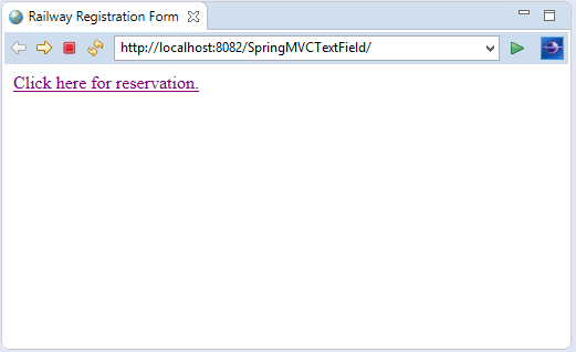 Spring MVC Form Text Field