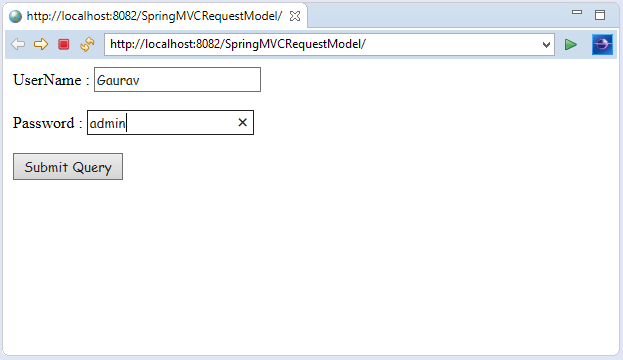 Spring MVC Model Interface