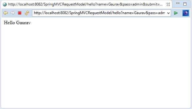 Spring MVC Model Interface