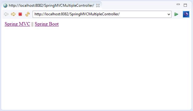 Spring MVC Multiple Controller
