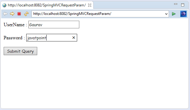 Spring MVC RequestParam Annotation
