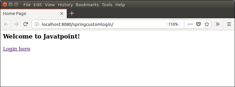 Spring Security Custom Login 4