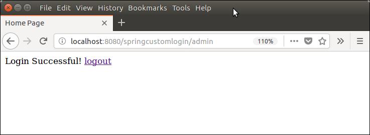 Spring Security Custom Login 6