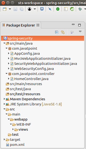 Spring Security Java Example - javatpoint