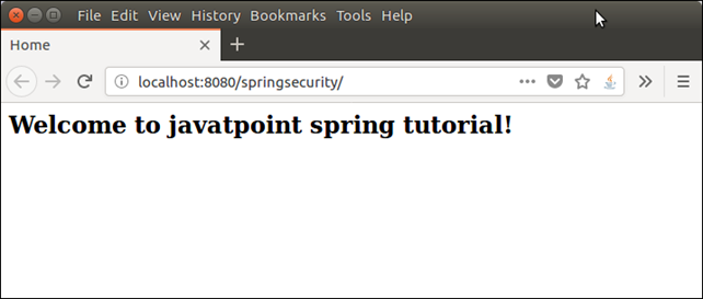 Spring Security XML Example 6