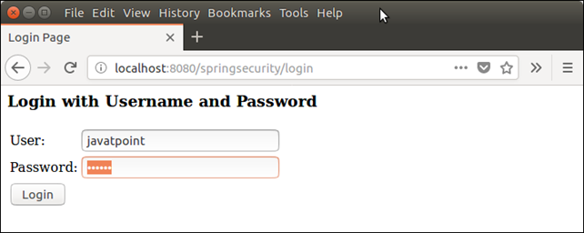 Spring Security XML Example 8