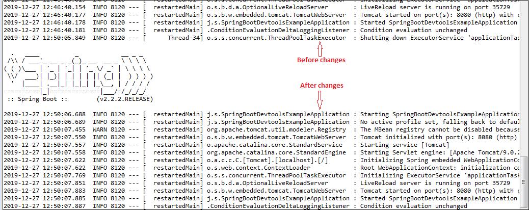 Spring Boot DevTools
