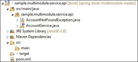 Spring Boot Multi-Module Project