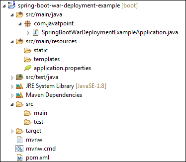 Spring Boot Project Deployment Using Tomcat