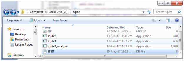 Java SQLite Example - javatpoint