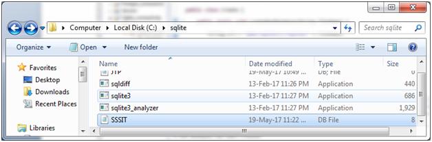 Sqlite Java with sqlite 3