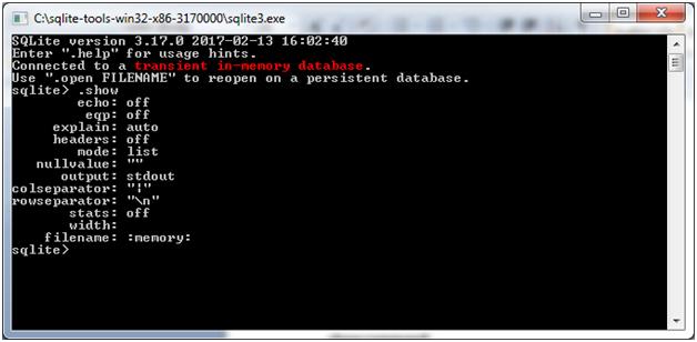 SQLite Command 2