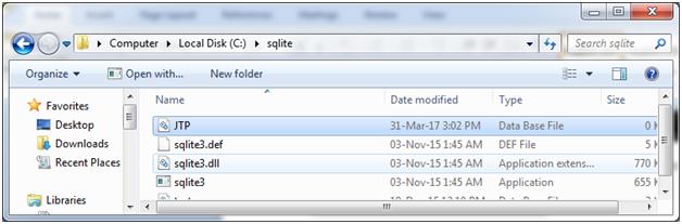 SQLite Create database 4