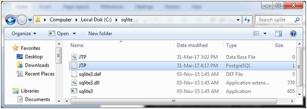 SQLite Create database 6