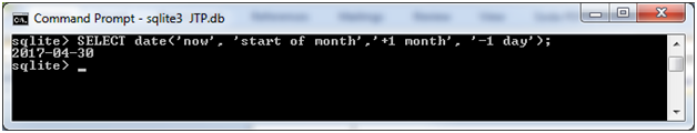 SQLite Date time function 7