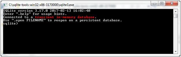 SQLite Installation 6