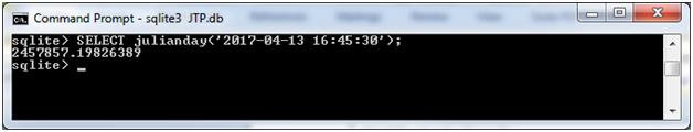 SQLite Julianday function 3