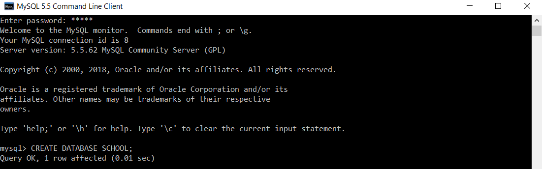 Types of SQL Commands