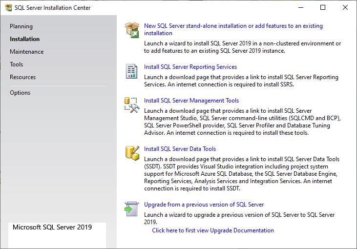SQL Install ms sql server 4
