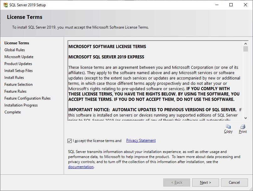 SQL Install ms sql server 5