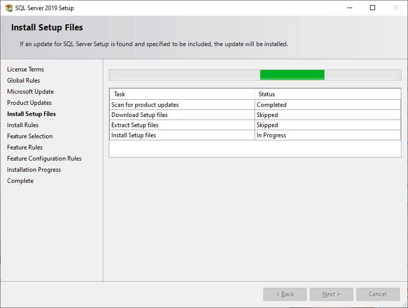 SQL Install ms sql server 8