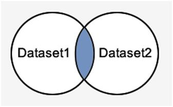 SQL Intersect operator 1