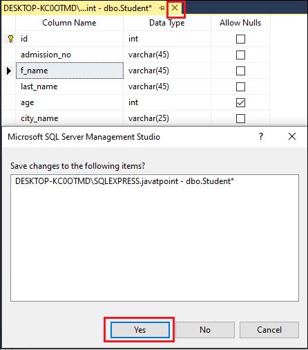 Rename Columns in SQL Server