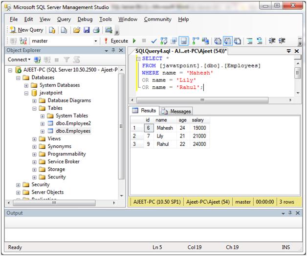 SQL Server in 2