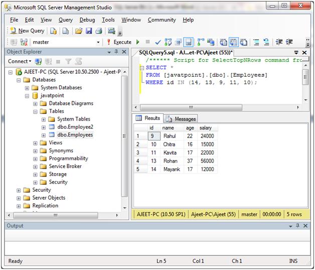 SQL Server in 3