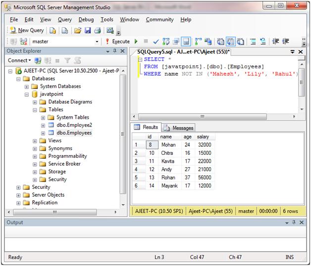 SQL Server in 5