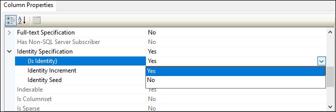 SQL Server CREATE TABLE