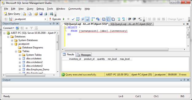 SQL Server foreign key 3