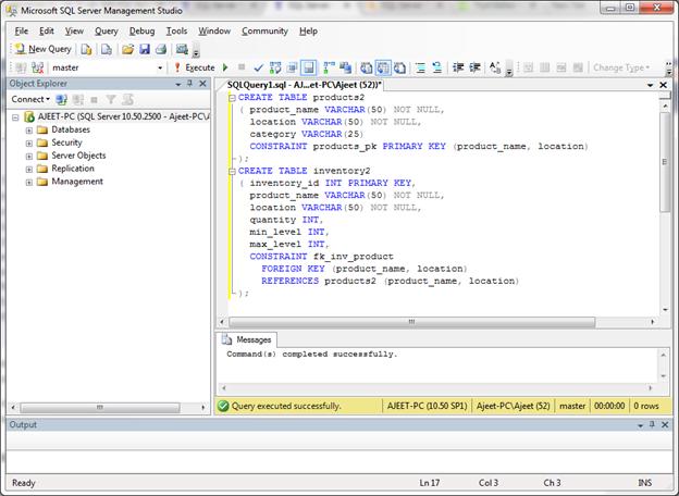 SQL Server foreign key 4