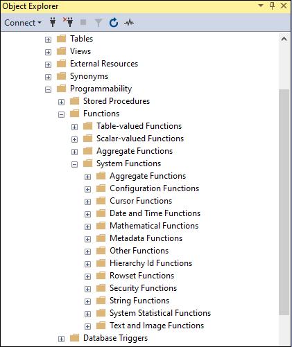 SQL Server Functions