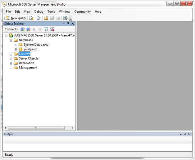 SQL server login database 2