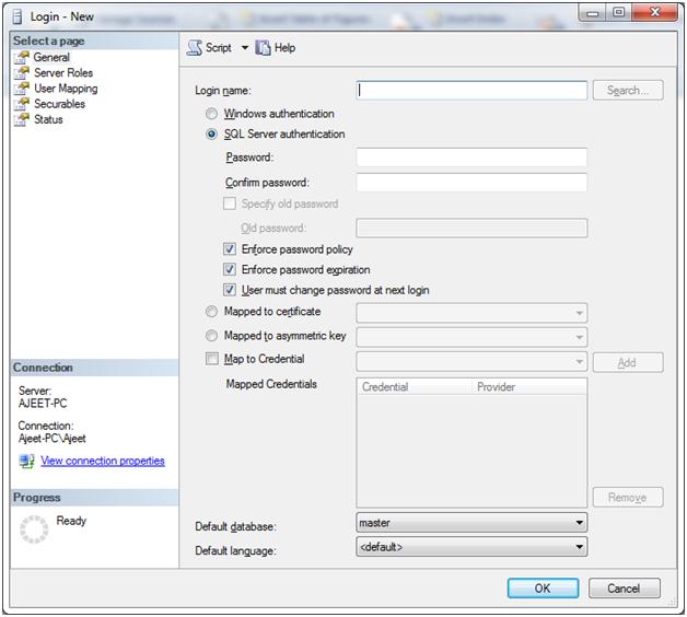 SQL server login database 4