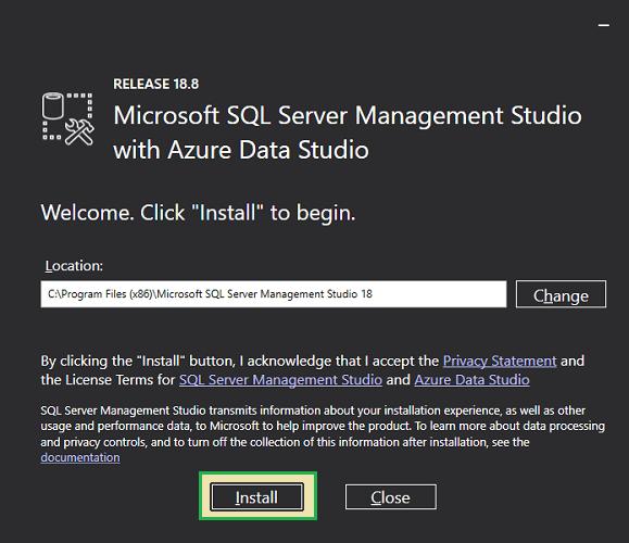 SQL server manaement studio 3