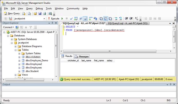 SQL Server primary key 4