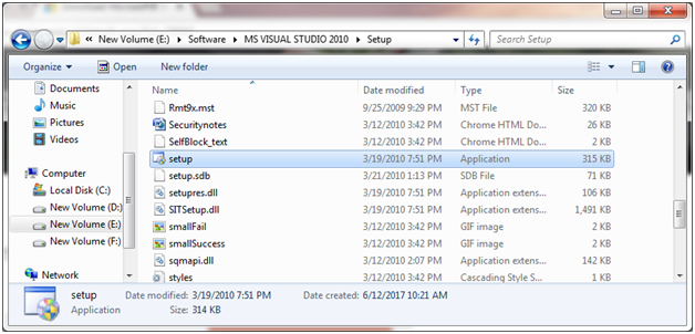 SQL server visual studio 2