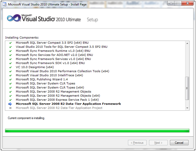 SQL server visual studio 24